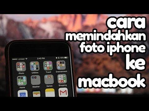 CARA MEMINDAHKAN FOTO IPHONE KE KOPUTER DI MACBOOK ATAU IMAC