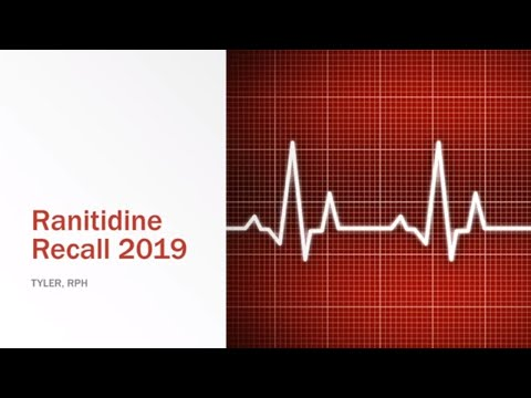 Ranitidine Recall 2019 - What should you do?