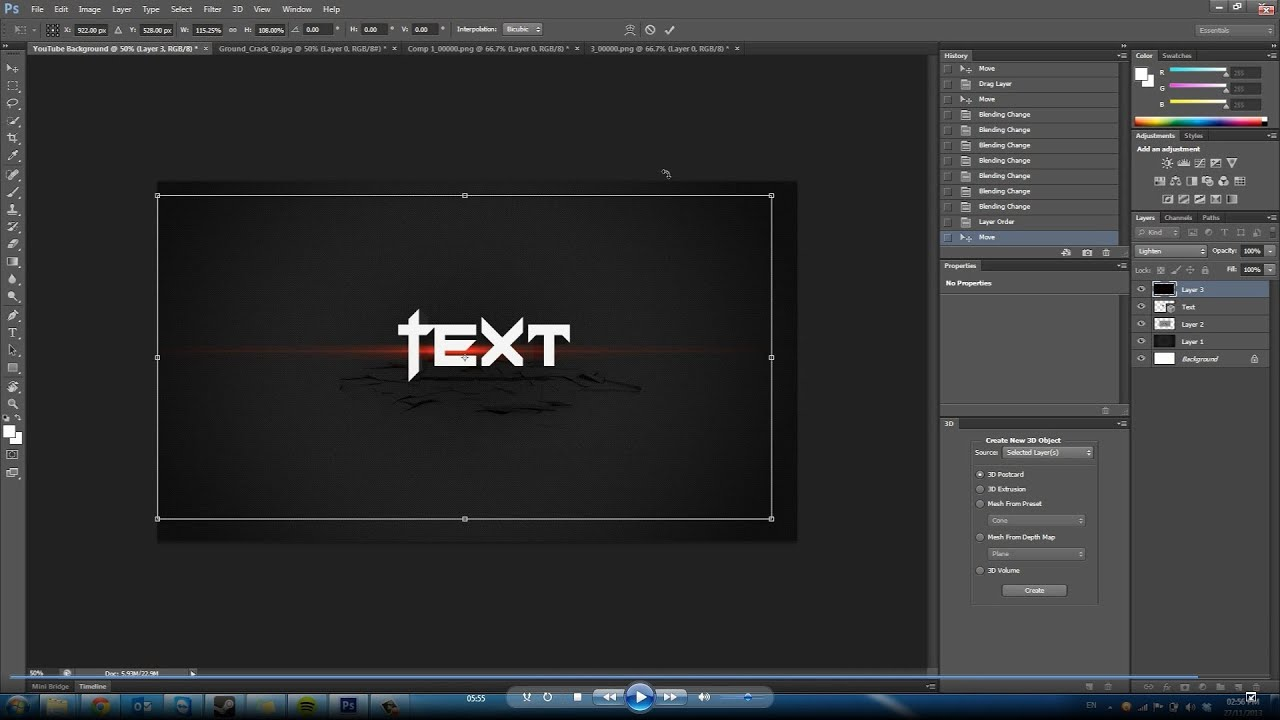 Thetechplague make a cool background photoshop cs6 for Cool backgrounds for photoshop