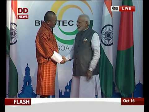 PM welcomes leaders of BIMSTEC in Goa