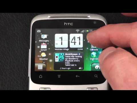 HTC ChaCha Video Review
