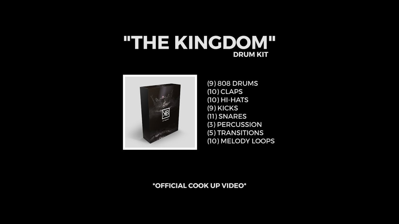 The Kingdom Drum Kit | Go AudiO