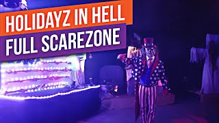 2018 Holidayz In Hell Scarezone at Universal Studios Hollywood