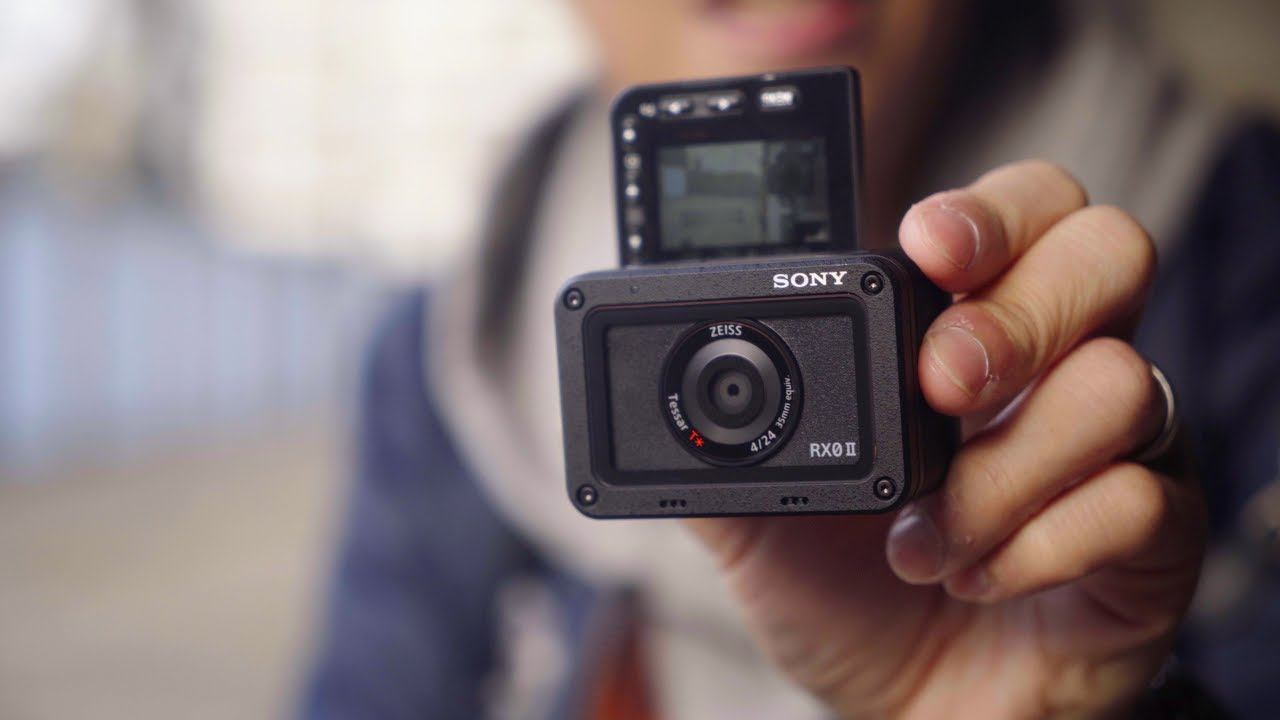 Sony RX0 II Hands-on - What The Flip?!