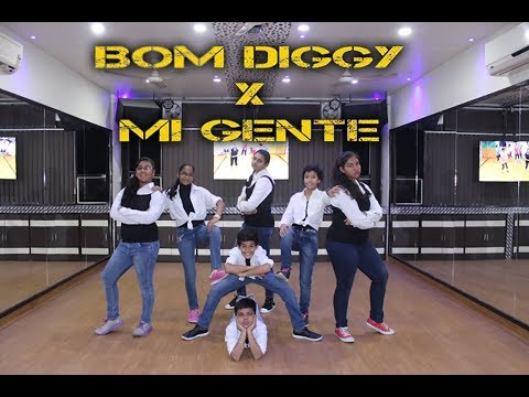 Bom Diggy vs Mi Gente | Dance Choreography Step2Step Dance Studio | 9888137158