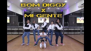 Bom Diggy vs Mi Gente | Dance Choreography By Step2Step Dance Studio 9888137158