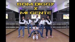 Bom Diggy vs Mi Gente | Bollyhop Dance Choreography | Step2Step Dance Studio | 9888137158