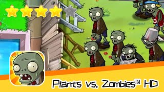 Plants vs  Zombies™ HD Adventure 2 Pool 04 Part 1 Walkthrough The zombies are coming! Recommend inde