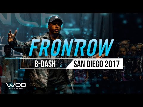 B-Dash | Headbangerz Brawl Judge Showcase | World of Dance San Diego 2017 | #WODSD17
