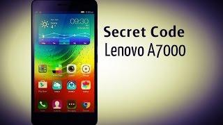 Secret Code Lenovo A7000