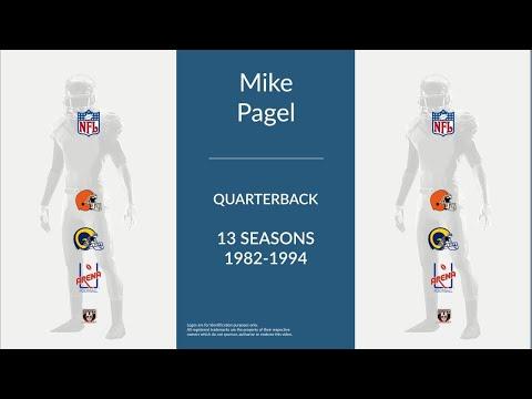 Mike Pagel: Football Quarterback