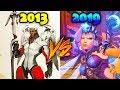 Evolution of MERCY - From 2013 to 2019 - Overwatch's Most Reworked Hero