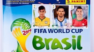 Panini World Cup Soccer Sticker Complete Album - US Version HD - All Stickers 2014 Brasil Brazil