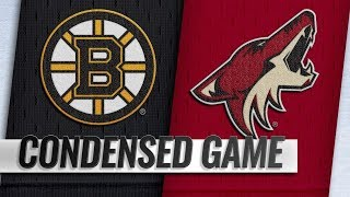 Boston Bruins vs Arizona Coyotes | Nov.17, 2018 | Game Highlights | NHL 2018/19 | Обзор матча