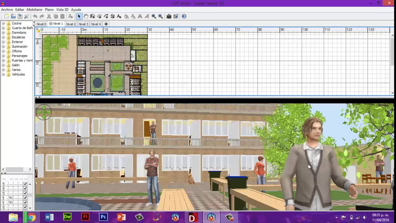 Descarga este incre ble programa full 2016 sweet home 3d for Home 3d