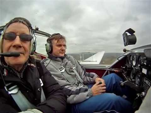 Falcon motor glider flying lesson No10