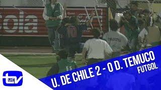 Universidad de Chile 2 - 0 Deportes Temuco (Campeón 1995) | Futgol