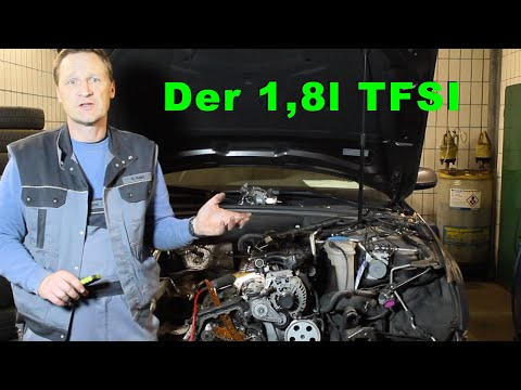 Repeat Der 1 8 L Tfsi Motor Von Innen Steuerkette Wasserpumpe
