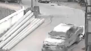 حادث دهس طفل صغير بلسيارة