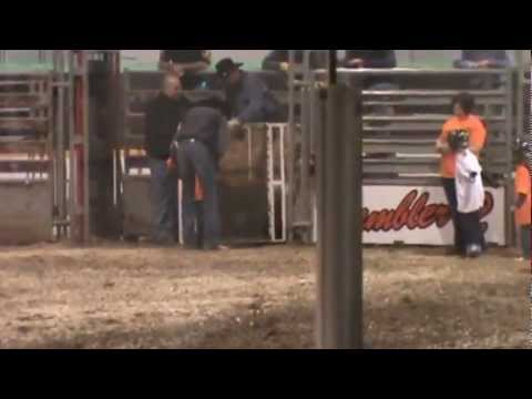 Mutton Bustin - Tisdale Rodeo 2012