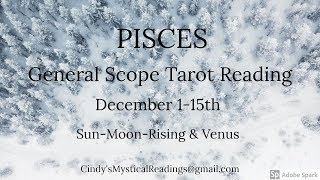 """PISCES DECEMBER 1-15 """"WOW 3 TOWERS BRING IN MAJOR CHANGES AND SURPRISES!"""""""