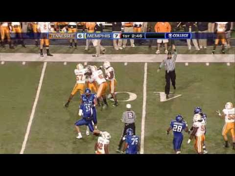 The Tennessee Volunteers dismantle the Memphis Tigers