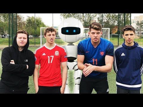 SIDEMEN FC VS YOUTUBE ALL STARS VS ROBOT FOOTBALL CHALLENGES