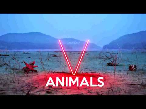 Maroon 5 - Animals (Instrumental & Lyrics)