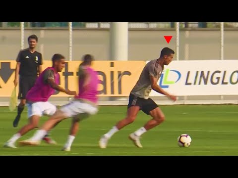 Cristiano Ronaldo is AMAZING in Training for Juventus