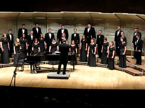 UWO Chamber Choir - I'm A Train