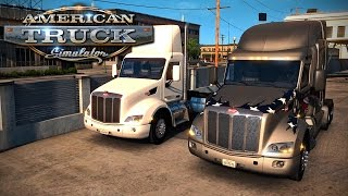 American Truck Simulator - Multiplayer 1 - Trucking With Polecat!