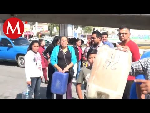 Molestia en el estado de Hidalgo por desabasto de gasolina