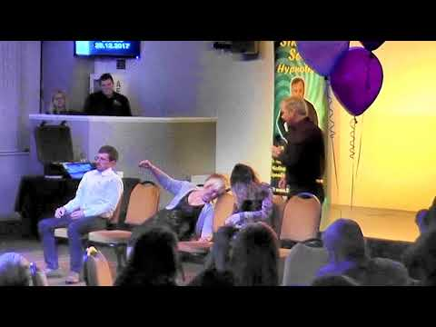 Simon Sez - Comedy Stage Hypnosis - Cold, Hot & Balloons
