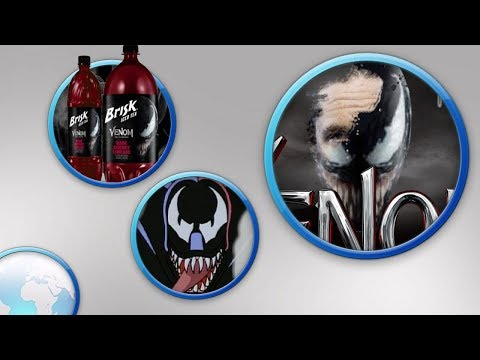venom promotional material gives us a look a good look at venoms mask!