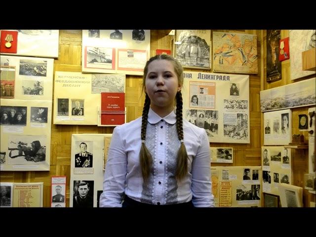 Изображение предпросмотра прочтения – ДарьяНефедова читает произведение «Если дорог тебе твой дом» К.М.Симонова