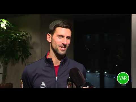 Novak Djoković pred početak Dejvis kupa u Madridu