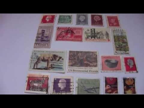 Colonial America / Grandma Moses & More Postal Stamps