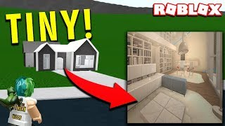 YOU WON'T BELIEVE WHAT'S IN THIS TINY HOUSE (ROBLOX BLOXBURG)