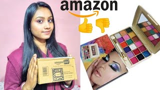 New Amazon eye Shadow Palette Review, Swatches. Is it Good???