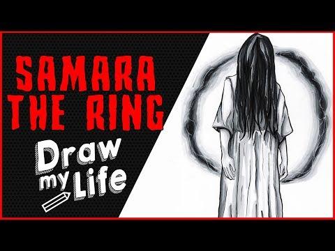 SAMARA - THE RING 💀 DRAW MY LIFE // HORROR