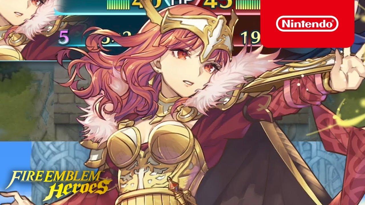 Fire Emblem Heroes Legendary Hero Celica Queen Of Valentia