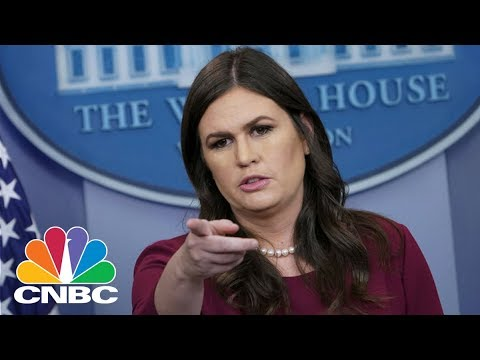LIVE: White House Holds Daily Press Briefing - May 9, 2018 | CNBC