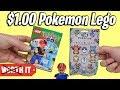 $1 Pokemon Lego VS $10 Pokemon Lego