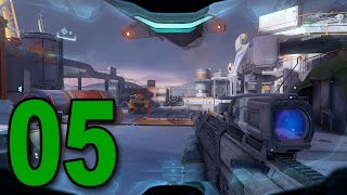 Halo 5: Guardians - Mission 5 - Unvonfirmed (Let's Play / Walkthrough / Gameplay)