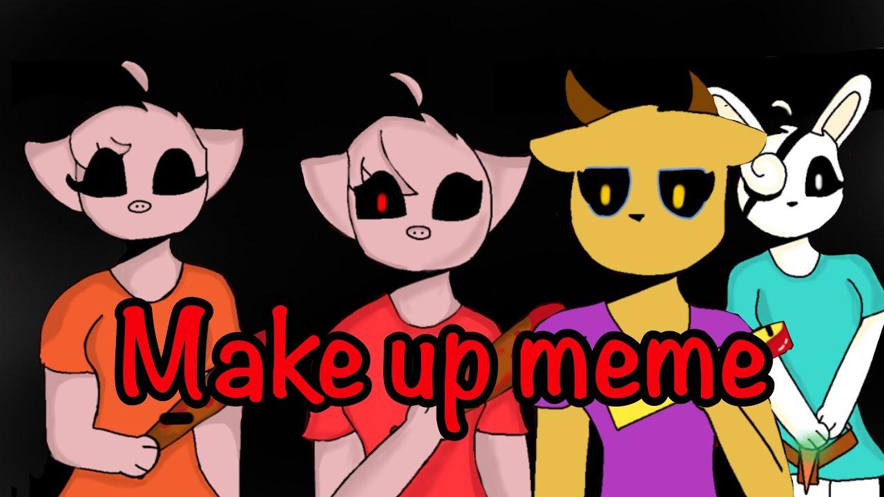 Make up meme (piggy) |Jazmin Games - YouTube