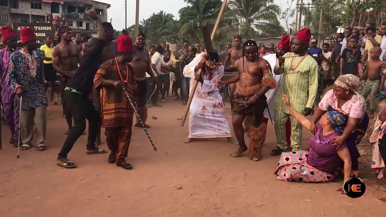 Download Cross Of Jesus- Nollywood Movie- The Making  (Ken Erics TV)