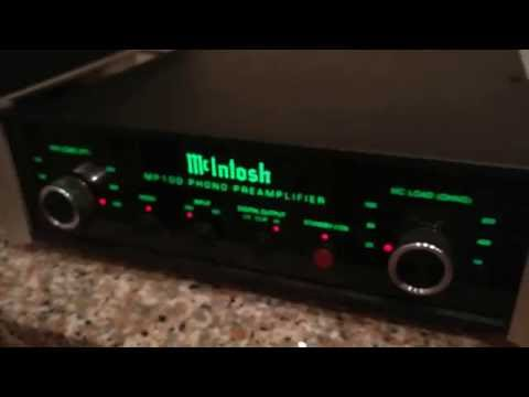 McIntosh MP100 phono preamp