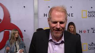 Noah Emmerich of The Hot Zone with Sari Cohen