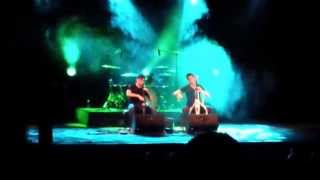 2CELLOS - Shape of my Heart (Cover Sting) - Trieste 31 / 05 / 2014