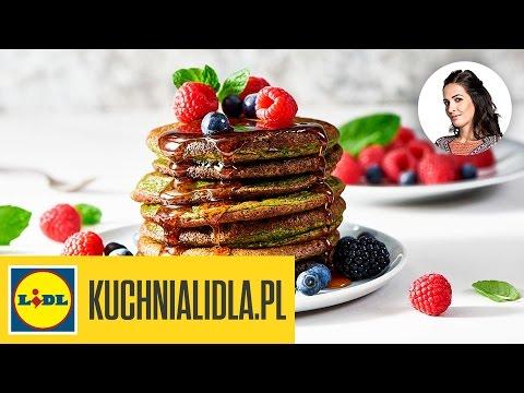 Pancakes Szpinakowe Z Owocami I Syropem Kinga Paruzel Kuchnia Lidla